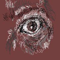 """Self Portrait - Eye"" 2019"