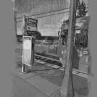 """Clackamas Town Center Station"" 2019"